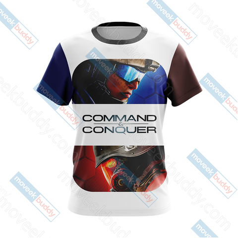 Image of Command & Conquer New Look Unisex 3D T-shirt