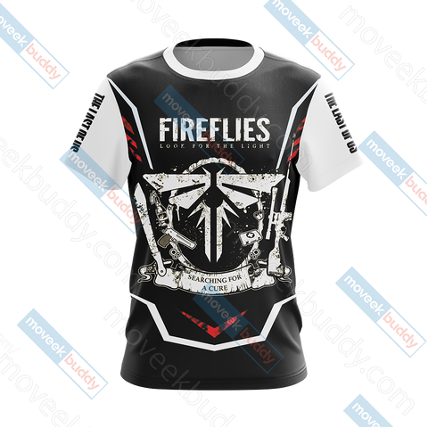 The Last of Us - The Fireflies Unisex 3D T-shirt