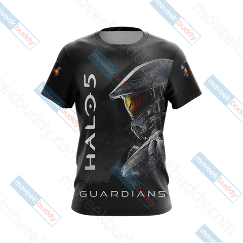 Image of Halo 5: Guardians - Hunt The Truth Unisex 3D T-shirt