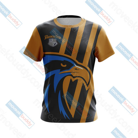 Image of Ravenclaw Eagles Quidditch Team Harry Potter Unisex 3D T-shirt