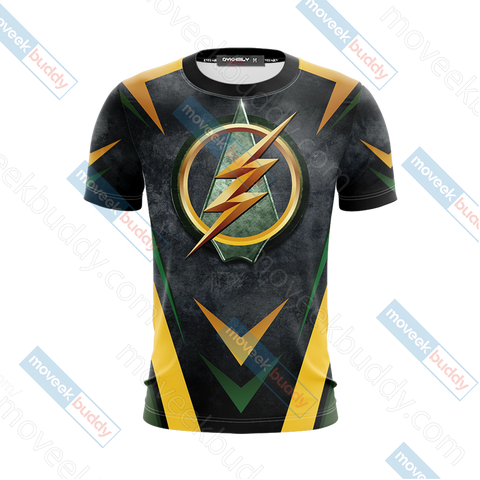 Image of Arrow and Flash New Version Unisex 3D T-shirt