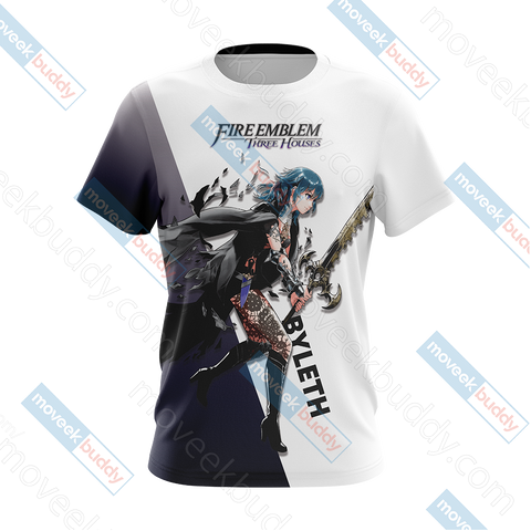 Image of Fire Emblem: Three Houses - Female Byleth Unisex 3D T-shirt