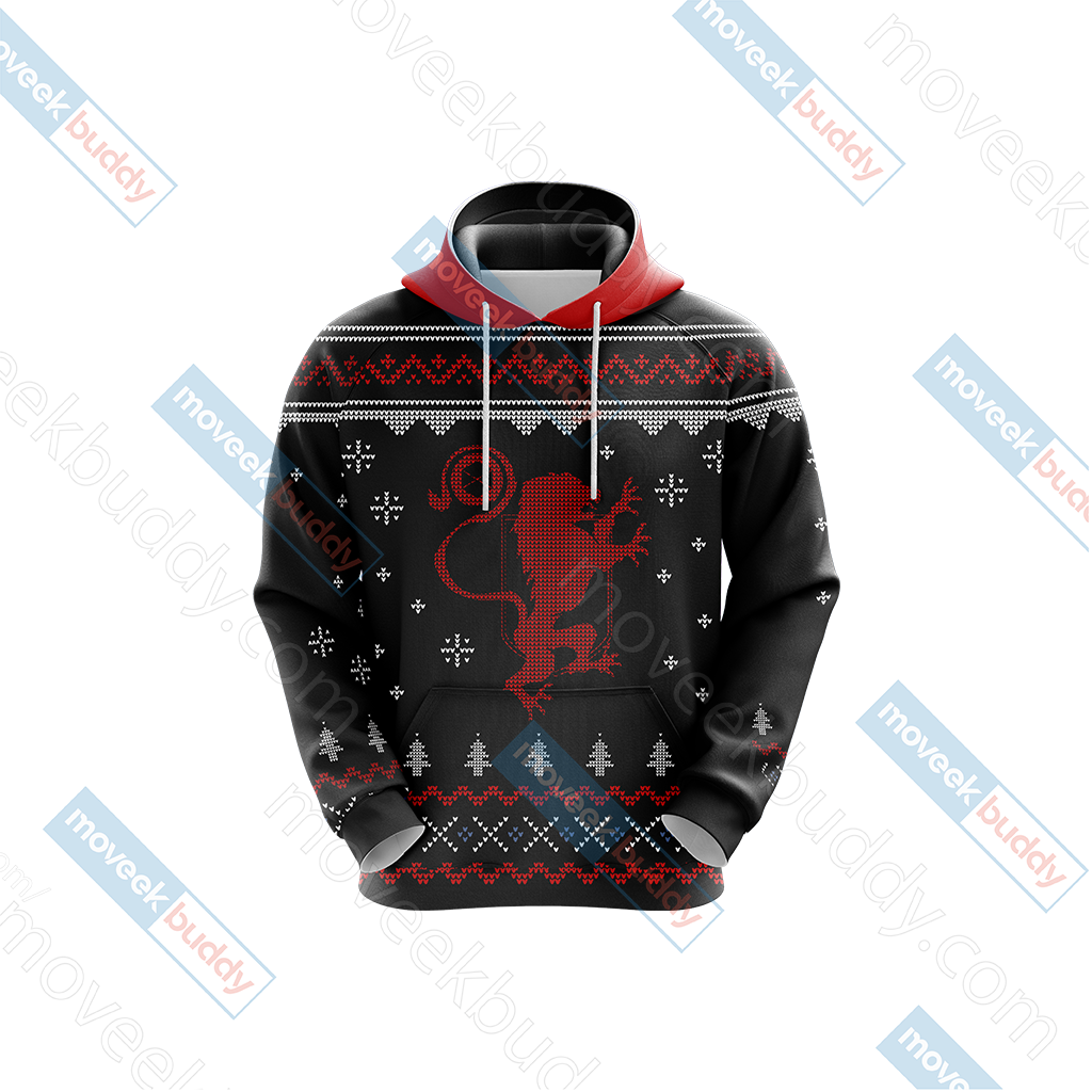 Destiny Version 2 Winter Style Unisex 3D Hoodie