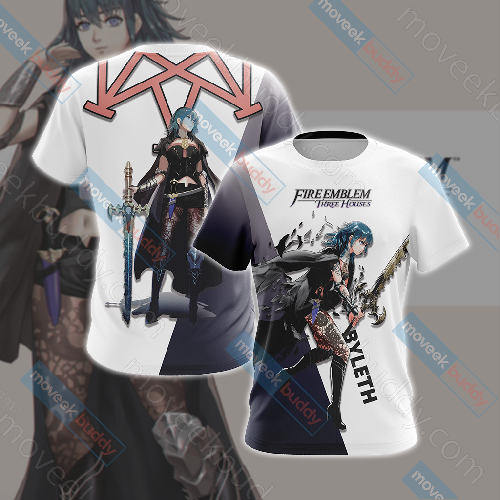 Fire Emblem: Three Houses - Female Byleth Unisex 3D T-shirt