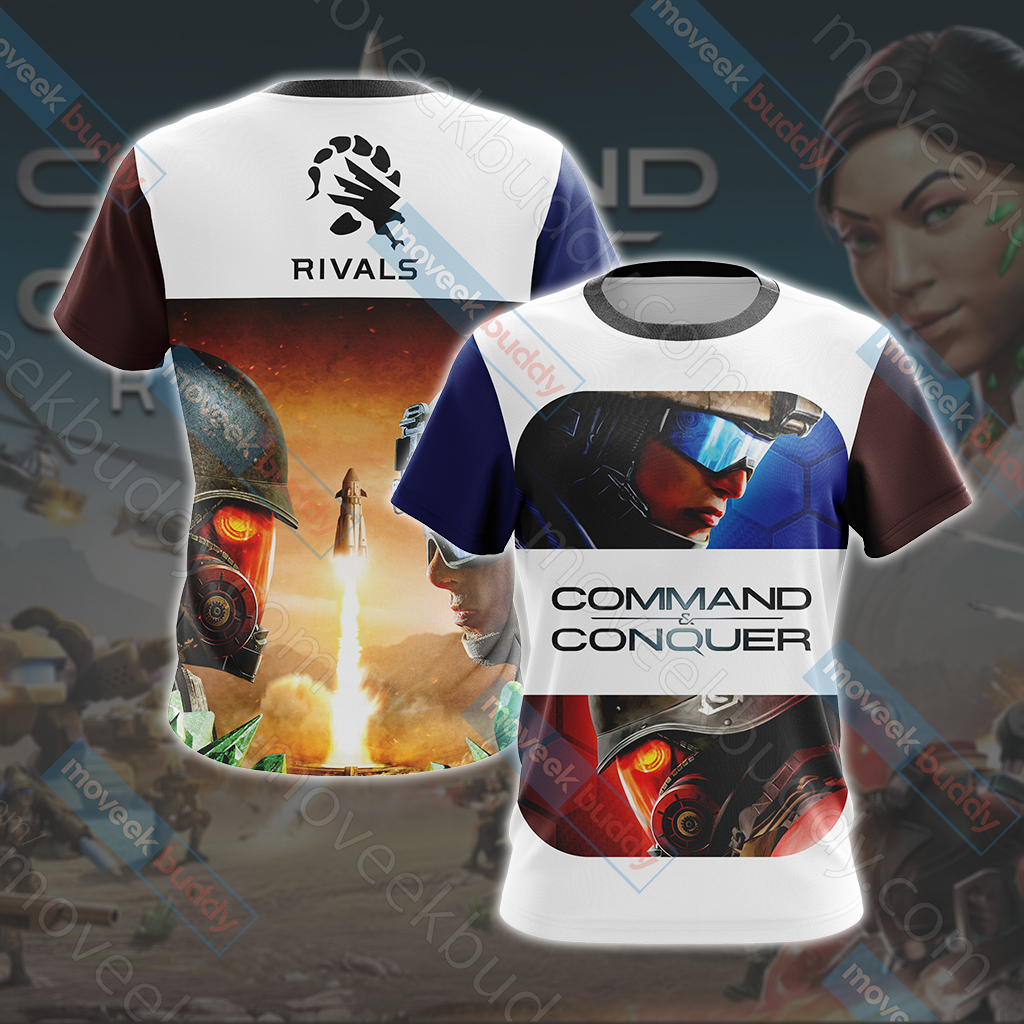 Command & Conquer New Look Unisex 3D T-shirt