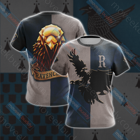 Image of Ravenclaw Eagles Harry Potter New Look Unisex 3D T-shirt