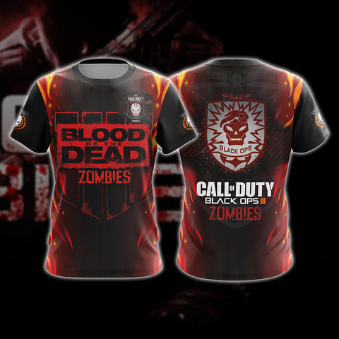 Image of Call of Duty: Black Ops Zombies Unisex 3D T-shirt