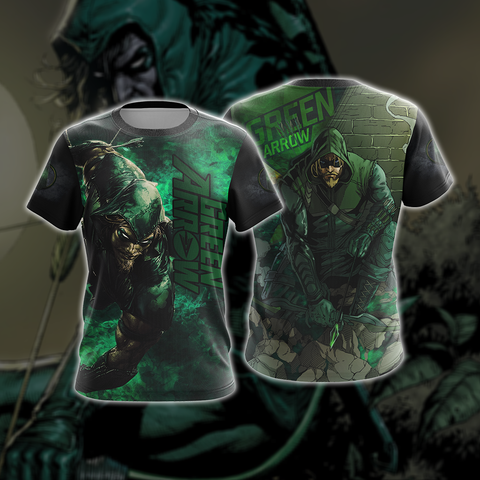 Image of Dc Green Arrow Unisex 3D T-shirt