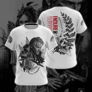The Last Of Us - Endure And Survive Unisex 3D T-shirt