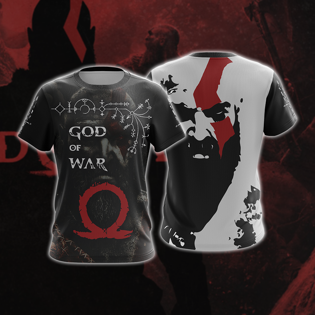 God Of War Leviathan Axe New Style Unisex 3D T-shirt