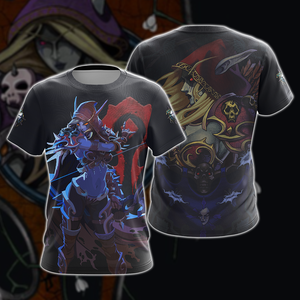 World of Warcraft - Sylvanas Windrunner Unisex 3D T-shirt