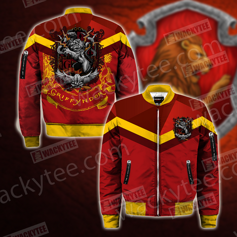 Hogwarts You Might Belong In Gryffindor Harry Potter Bomber Jacket