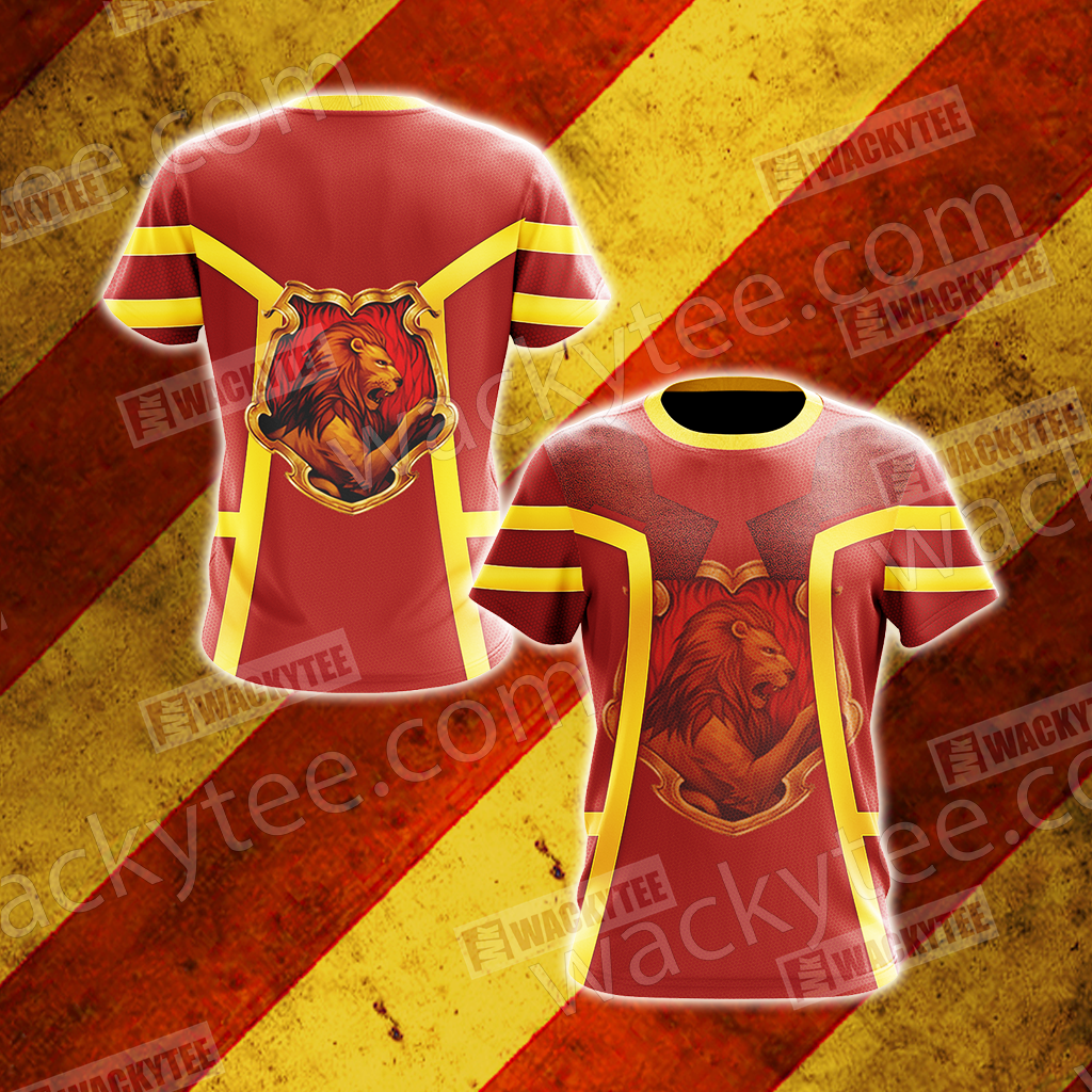 Harry Potter - Gryffindor Unisex 3D T-shirt