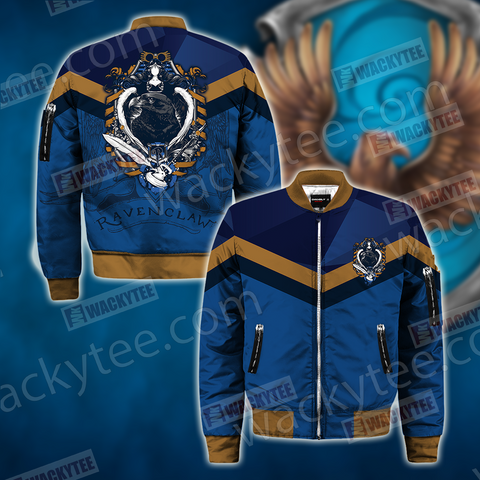 Hogwarts You Might Belong In Ravenclaw Harry Potter Bomber Jacket