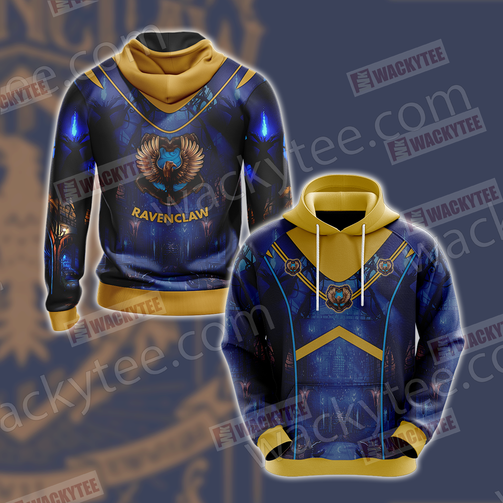 Hogwarts Harry Potter - Ravenclaw House New Version Unisex 3D Hoodie