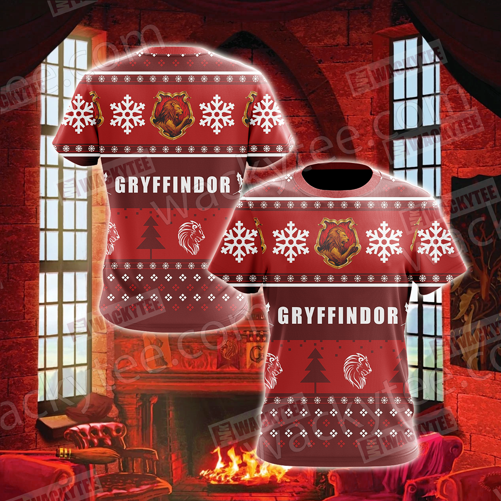 Harry Potter - Gryffindor House New Version Unisex 3D T-shirt