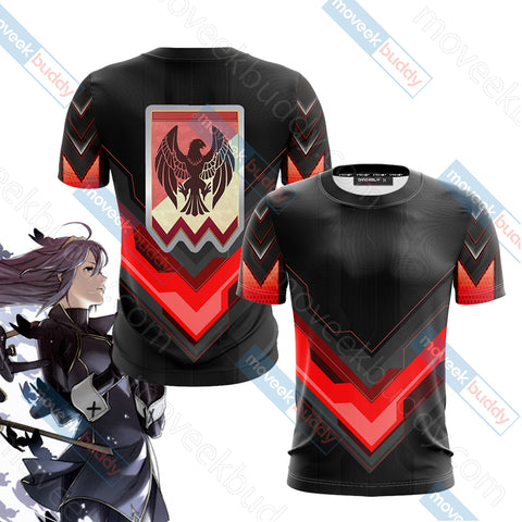 Fire Emblem Version 2 Unisex 3D T-shirt