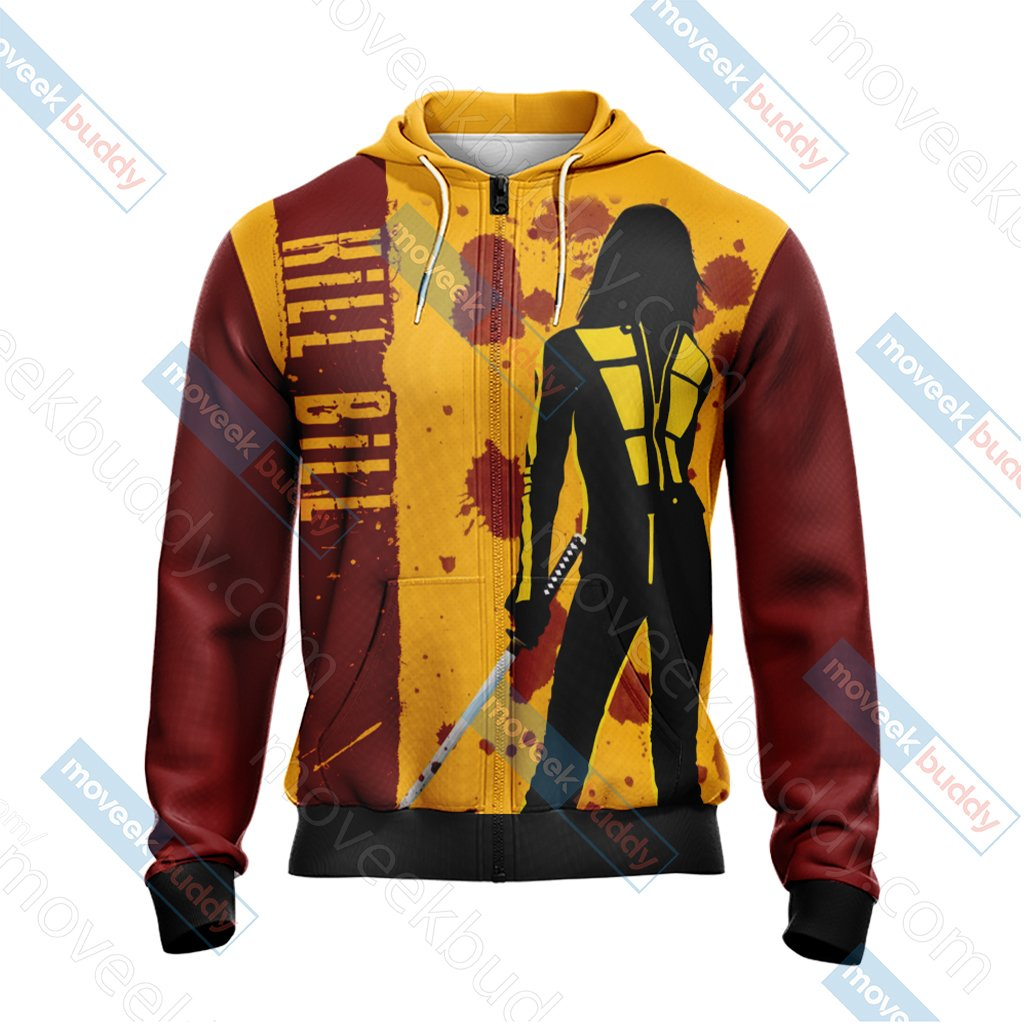 Kill Bill New Style Zip Up Hoodie