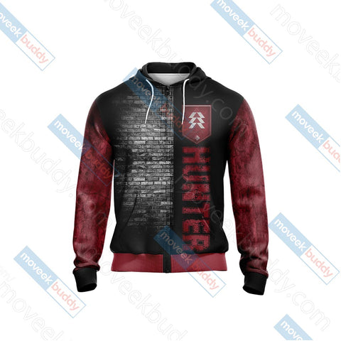 Image of Destiny 2 - Hunter New Unisex Zip Up Hoodie Jacket