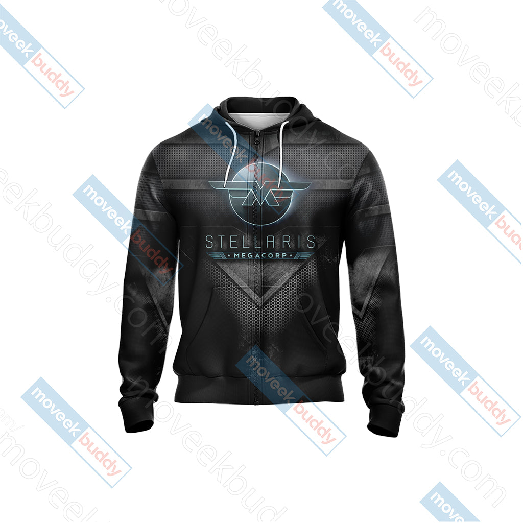 Stellaris Unisex Zip Up Hoodie Jacket