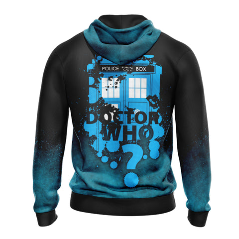 Doctor Who (TV show) Lord Of Time Unisex Zip Up Hoodie
