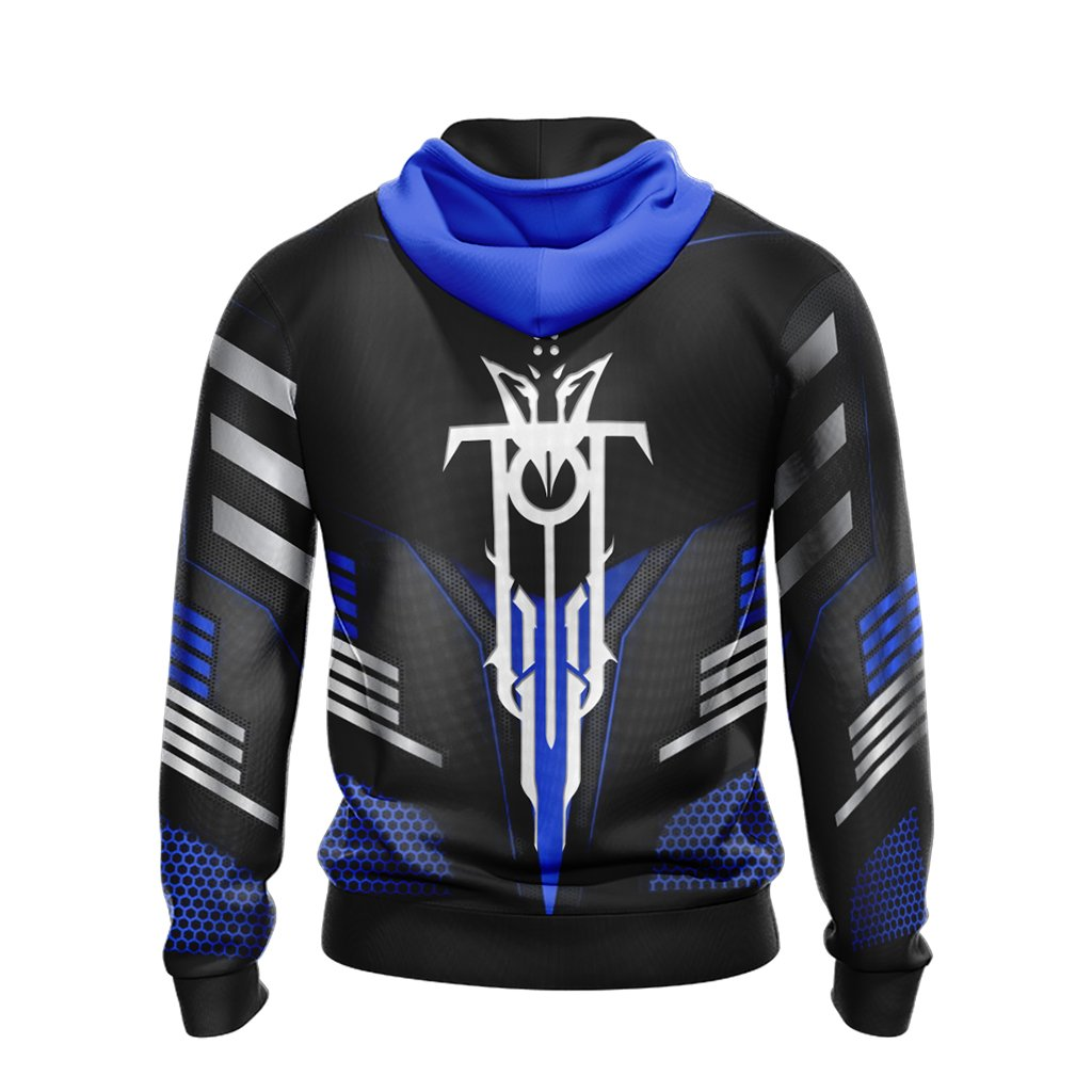 Destiny - House of Wolves New Look Unisex Zip Up Hoodie