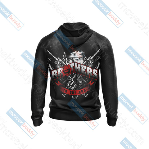 Gears Of War - Brother To The End Unisex 3D Hoodie