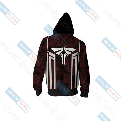 The Last of Us - Look For The Light Unisex Zip Up Hoodie Jacket