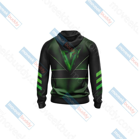 Arrow New Look Unisex Zip Up Hoodie Jacket