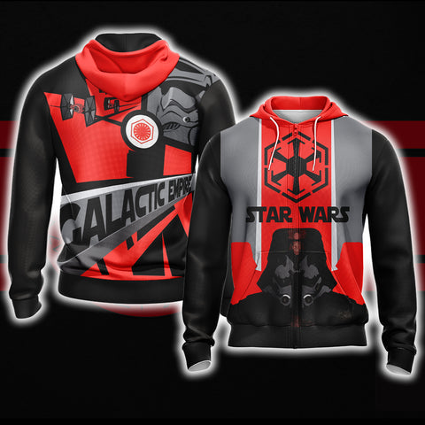Star Wars - Galactic Empire Unisex Zip Up Hoodie