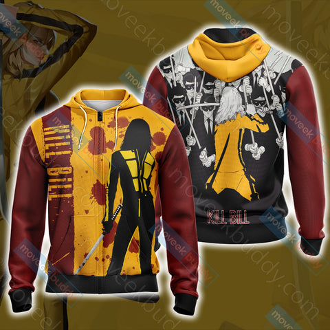 Image of Kill Bill New Style Zip Up Hoodie