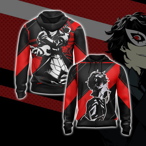 Image of Persona 5 - Joker New Version Unisex Zip Up Hoodie