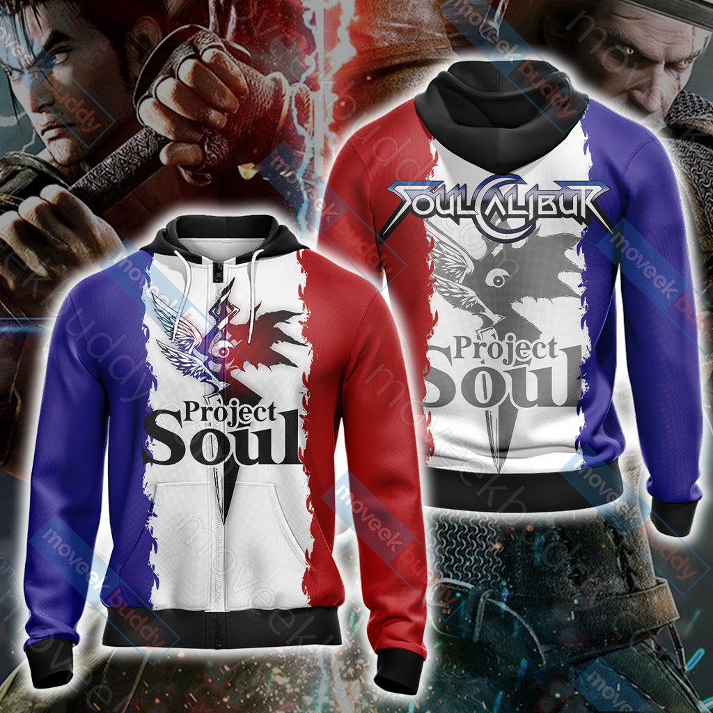 Soulcalibur - Project Soul Unisex Zip Up Hoodie Jacket