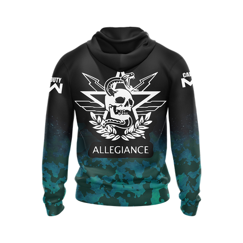 Image of Allegiance - Call of Duty Modern Warfare Unisex Zip Up Hoodie