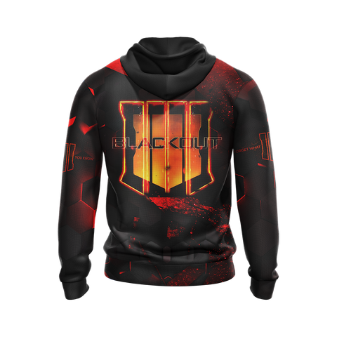 Image of Call of Duty - Black Ops 4 New Version Unisex Zip Up Hoodie