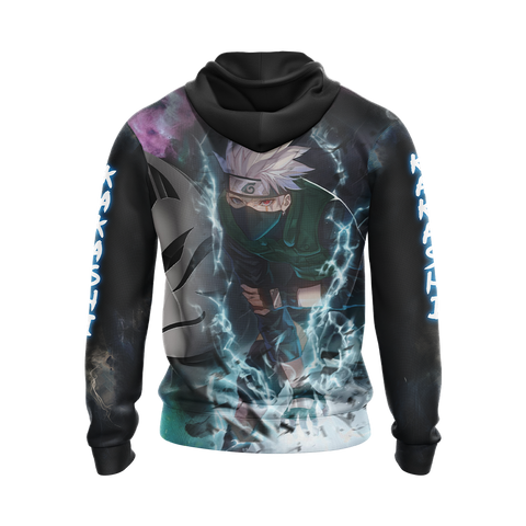 Naruto Kakashi - Got Lost In The Path Of Life Unisex 3D T-shirt Zip Hoodie Pullover Hoodie