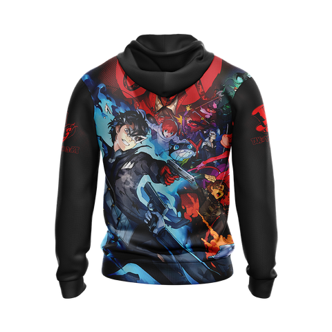 Persona 5 New Look Unisex Zip Up Hoodie