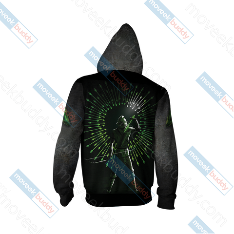 Image of Arrow Oliver New Unisex Zip Up Hoodie Jacket