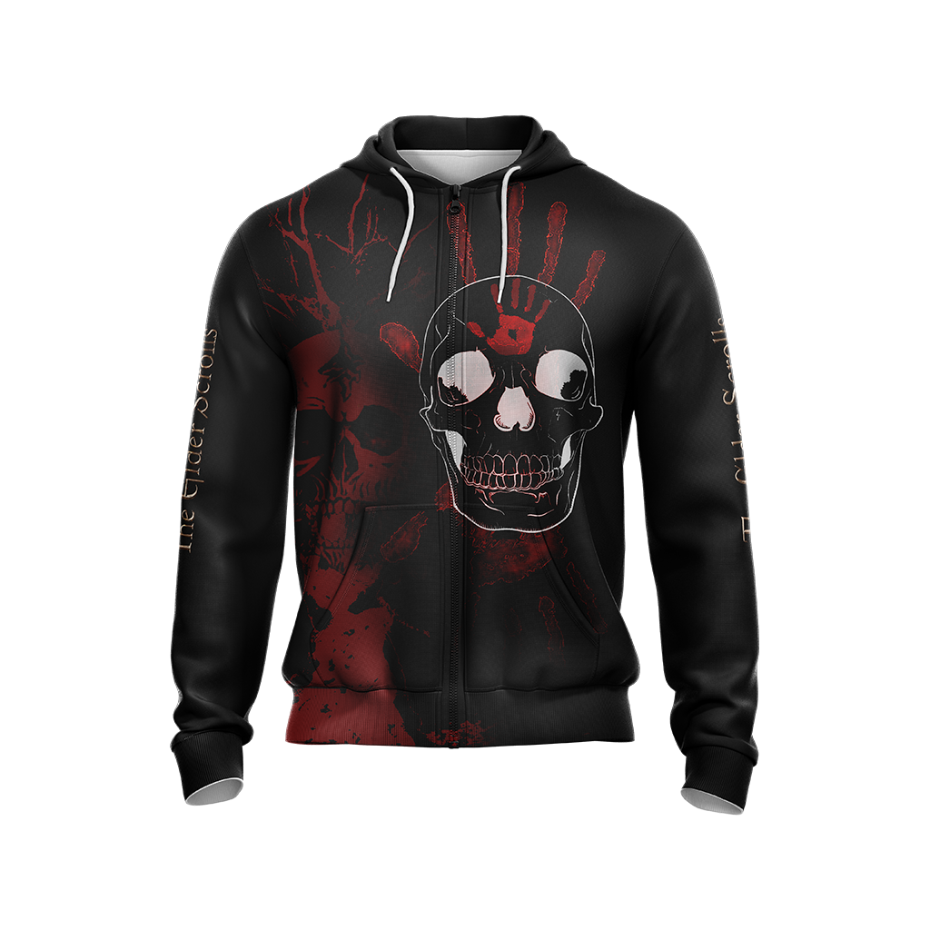 The Elder Scrolls New Style Unisex Zip Up Hoodie
