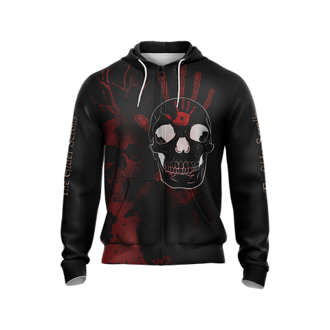Image of The Elder Scrolls New Style Unisex Zip Up Hoodie