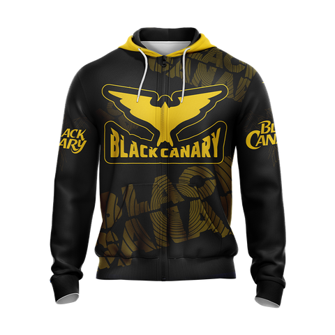 Arrow Black Canary Unisex Zip Up Hoodie