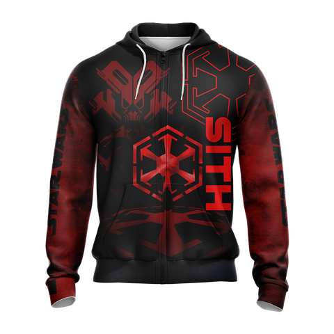 Star wars - Sith code Unisex Zip Up Hoodie