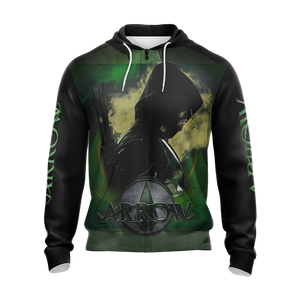 Arrow (tv series) Unisex Zip Up Hoodie