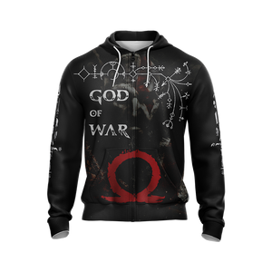 God Of War Leviathan Axe New Style Unisex Zip Up Hoodie