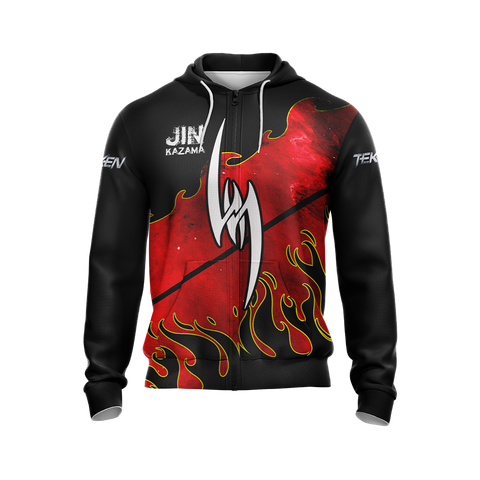 Image of Tekken - Jin Kazama New Unisex Zip Up Hoodie