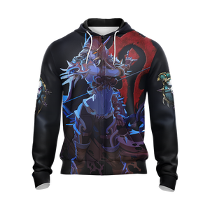 World of Warcraft - Sylvanas Windrunner Unisex Zip Up Hoodie