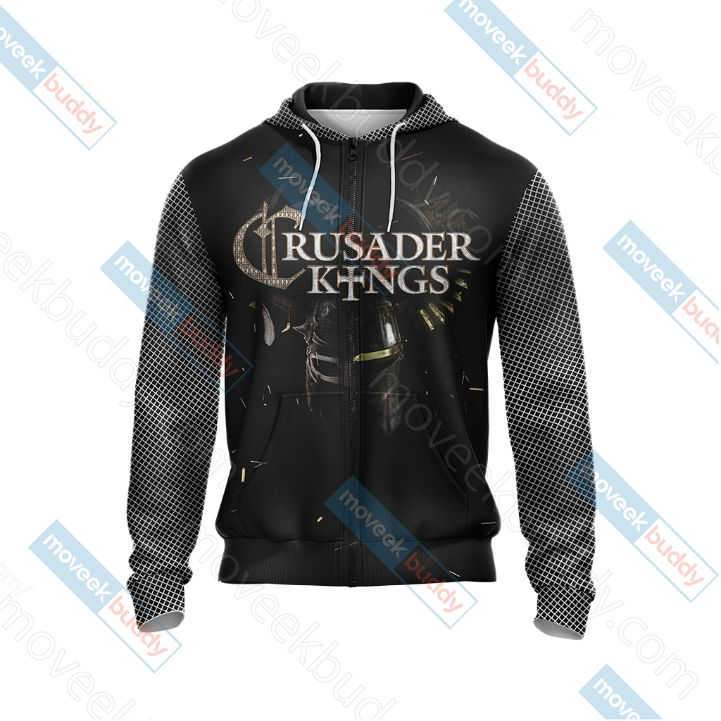 Crusader Kings II Unisex Zip Up Hoodie Jacket