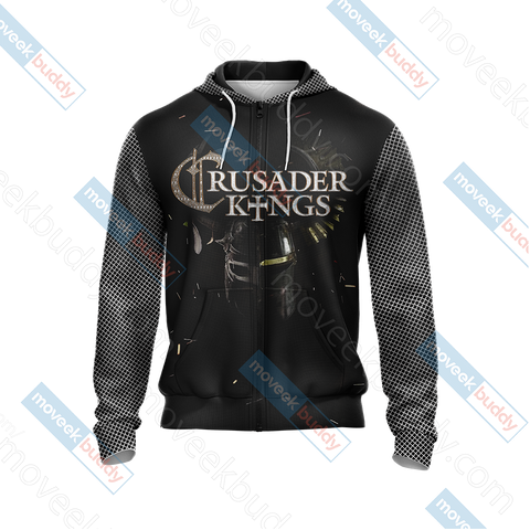 Image of Crusader Kings II Unisex Zip Up Hoodie Jacket