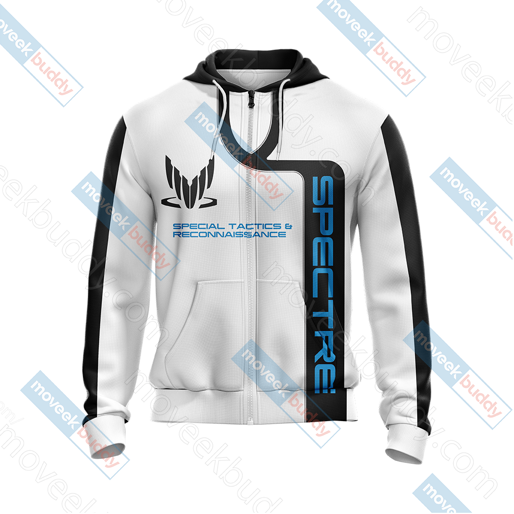 Mass Effect - Spectre Unisex Zip Up Hoodie Jacket