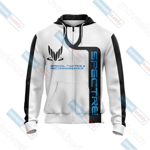 Image of Mass Effect - Spectre Unisex Zip Up Hoodie Jacket